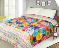 shanghai honour china supplier indian style 100 polyester microfiber comforter