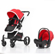EN1888 baby pram poland with car seat/qualaity stainless steel baby stroller pram 3 in 1/OEM CE high landscape baby buggy