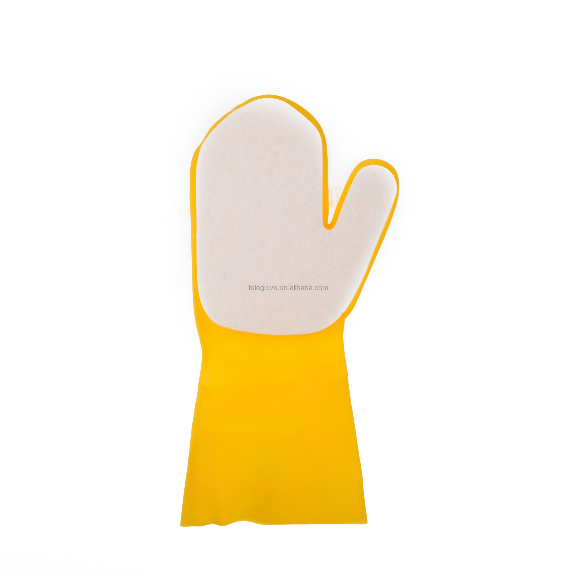 latex household kitchen sponge gloves