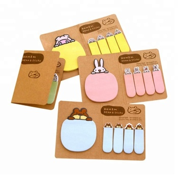 Cheap custom size and shape pallet logo sticky note pad