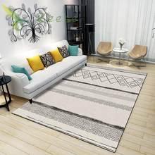 Ковер для гостиной в богемном стиле, современный ковер с геометрическим рисунком, нескользящий, противообрастающий, для спальни, гостиной, ...(Китай)