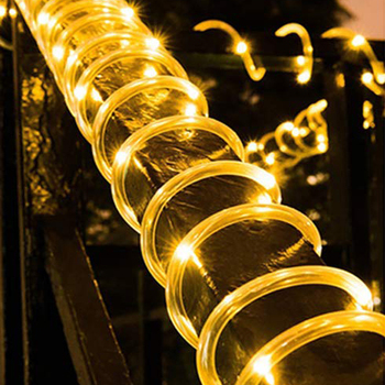 Warm White Rope Lights 72ft Strip Led