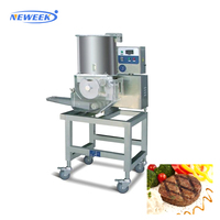 NEWEEK mold customized hamburger forming cutlet burger patty making machine