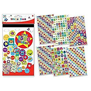 Children's Kids Fun Art And Craft Sticker Book 1500 Stickers Travel Holidays Gift