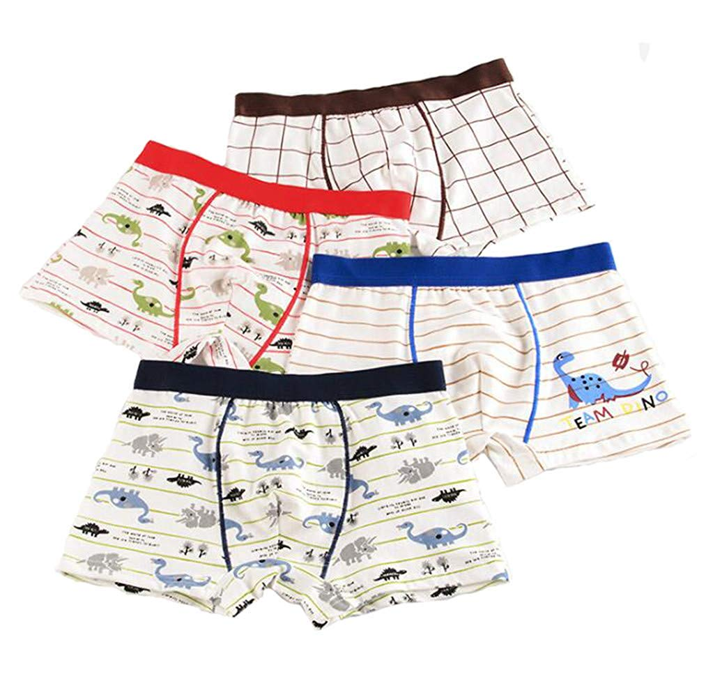f827defa5185b Clothing, Shoes & Accessories 5 Of Pack Dinosaur Boys Underwear Toddler  Cotton Boxer Briefs For Kids ...