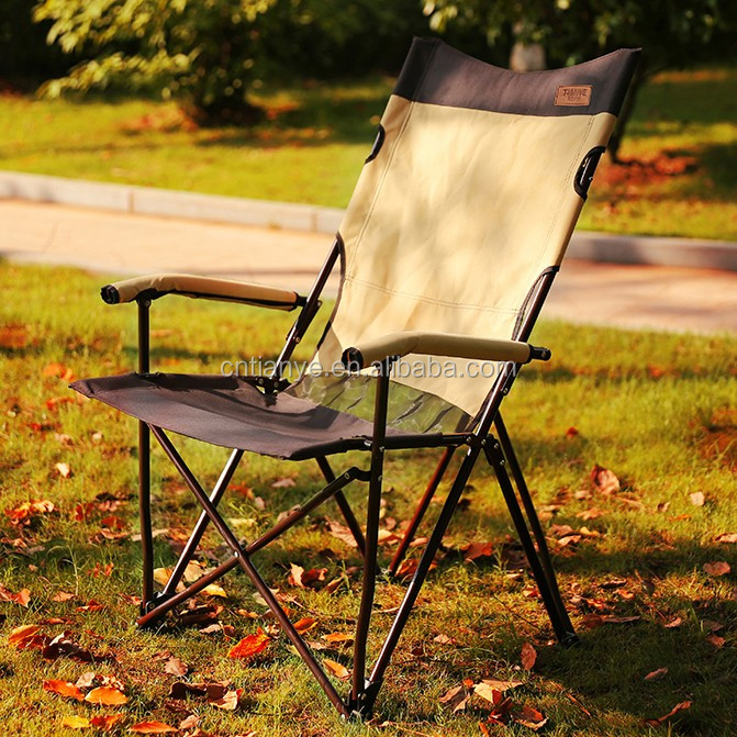 Folding camping chair aluminum chair lawn chair china factory
