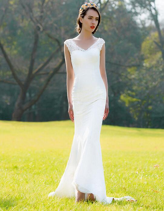 Simple Lightweight Wedding Dress
