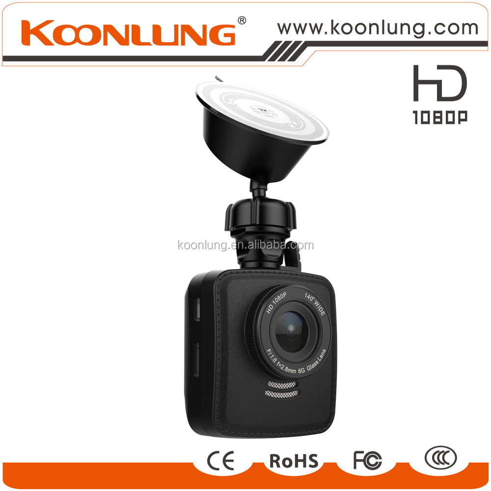 good quality 1080p Full HD event recorder 140 degree wide angel dash cam