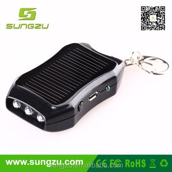Keyring Mini Solar Mobile Charger & 1200mah Smart Solar Battery ...