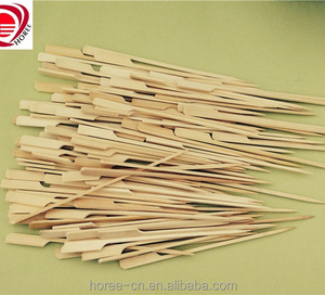 BBQ Sticks Flag/Gun Skewers with the material of Bamboo