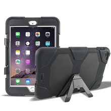 Handy case 7.9'' tablet kids proof cover for iPad Mini 2/3/4 silicone+pc high quality shockproof case