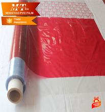 Colorful printed mattress package pvc film factory made in China