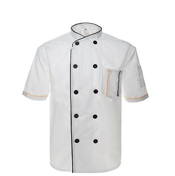 long sleeve white executive chef uniform chef shirt