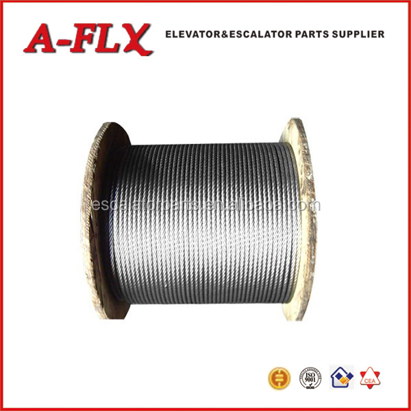 19mm Wire Rope Cable Grip 8*19 Wire Rope Elevator Steel Wire Rope ...