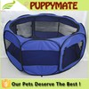 Durable Pet Tent, dog pen, pet dog Cage with Strong Steel Frame