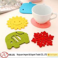 Felt coaster & Felt table mat & Felt placemat made in china