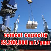 portland cement per ton