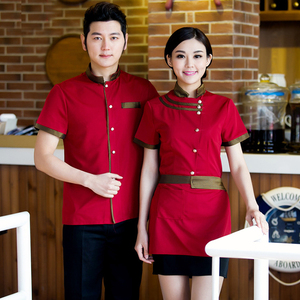 Workwear Restaurant Coffee Shop Clothes OEM service Waiter Uniforms