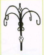 popular China cheap free standing shepherd hooks