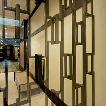Foshan factory custom design home room partition  decorative metal grille panels