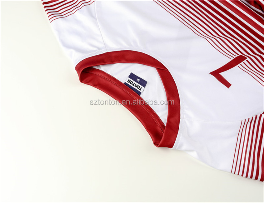 Fashionable customize sports dry fit mexico blank ireland soccer jersey