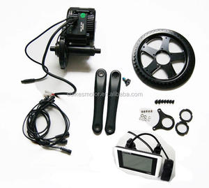 central engine electric bicycle conversion kit 48v 1500w mid drive motor e bike kit