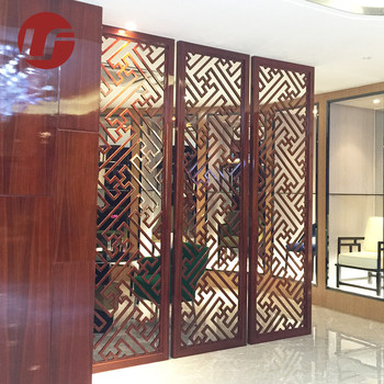. Custom modern hotel stainless steel wall decoration partition screen  View  wall decoration partition  Maple green Product Details from Foshan Maple