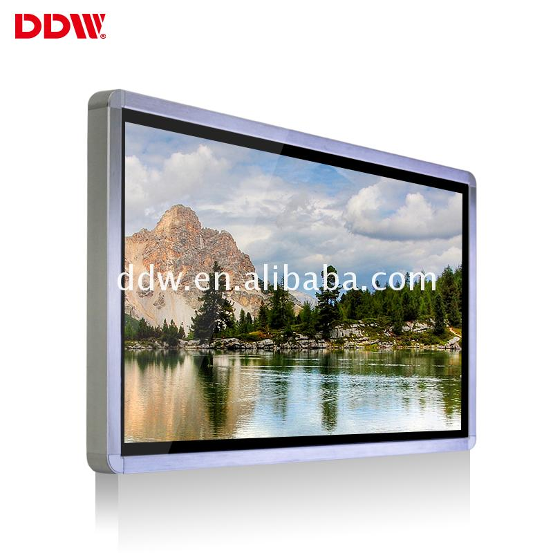 Economic and Efficient cloud-base multimedia touch screen kiosk cheap lcd monitor 32 inch totem display DDW-AD3201W
