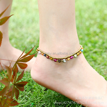 summer anklets for anklet retro bracelet silver jewelry women from bracelets beach foot chain fashion girls ankle alloy leg styles product sexy