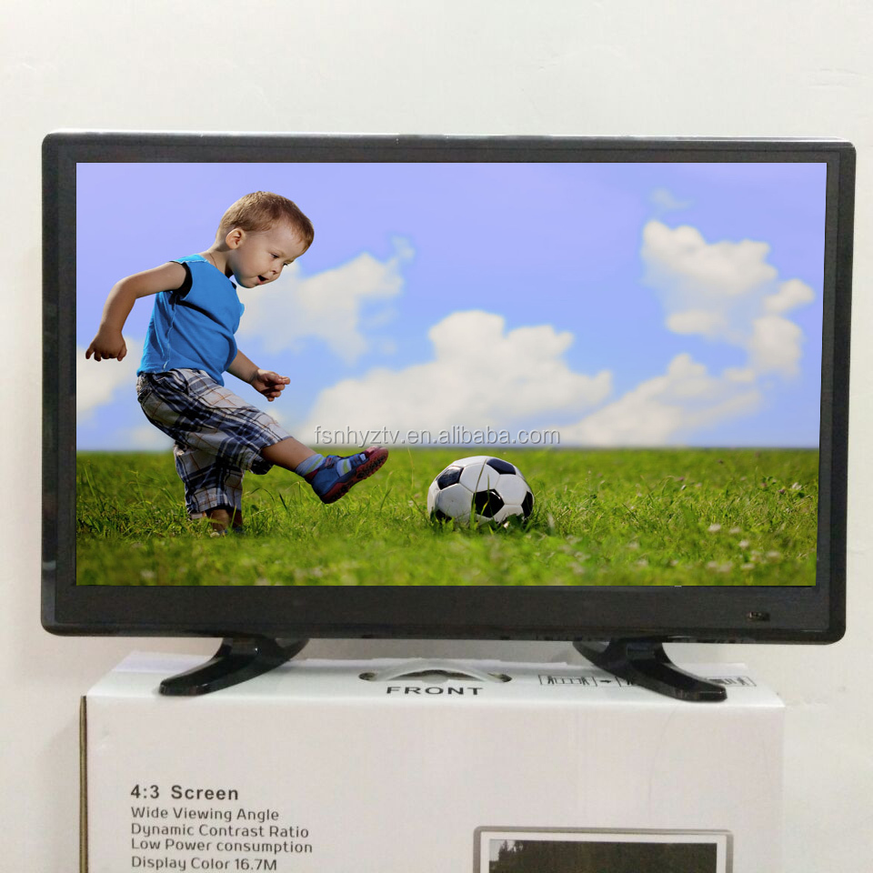 17 inch Solar Led Lcd Tv With DC 12V / High Quality and Low price Led tv