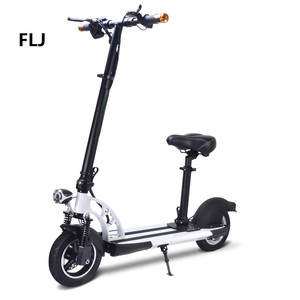 shenzhen factory new style 36V 500W 10 inch fat tire self balancing two wheeler electric scooter for sale