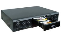 5-Disc DVD Player With Karaoke