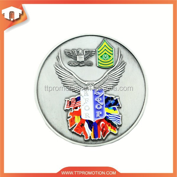 Cheap customized 3d american silver eagle coin