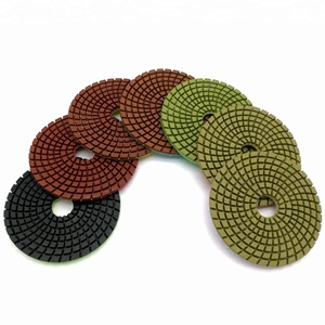 100mm 4 inch Diamond Polishing Pad For Granite And Marble