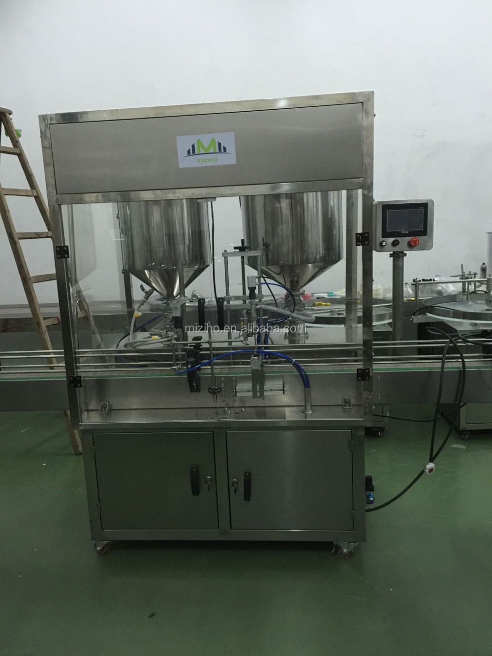 MZH-F Cheese,lipstick and ointment full-auto filling machine