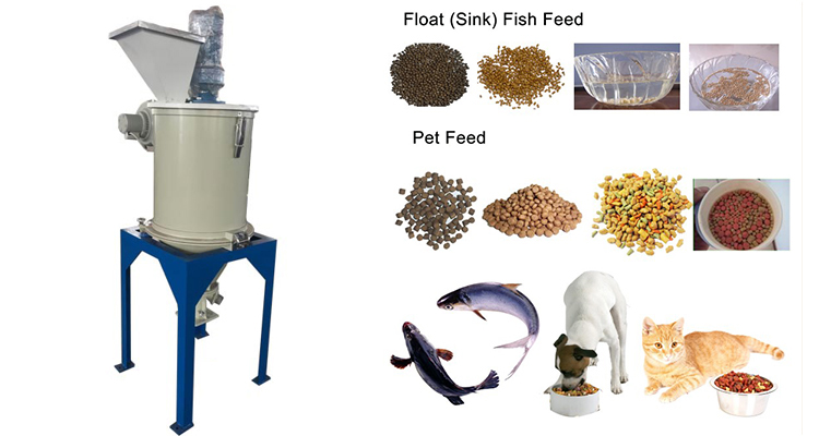 Floating Fish Animal Pet Food Feed Pellet Mill Extruder Making Machine Production Line