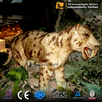 MY Dino Animal Stature Saber Toothed Tiger for Sale