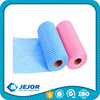 Red Blue Green Disposable Super Absorbent Spunlace Wipes Roll