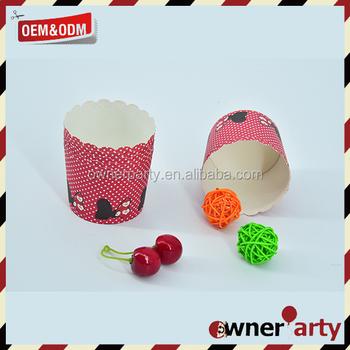 Custom cupcake paper