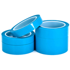 Packaging Customization Holding Tape Self Adhesive Film Similar Nitto 3800K Self Adhesive Acrylic PET Film Blue Holding Tape for Refrigerator Fixing Transport