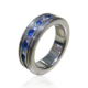 Shiny polish two tone blue cz chic jewellery in china cheap ring