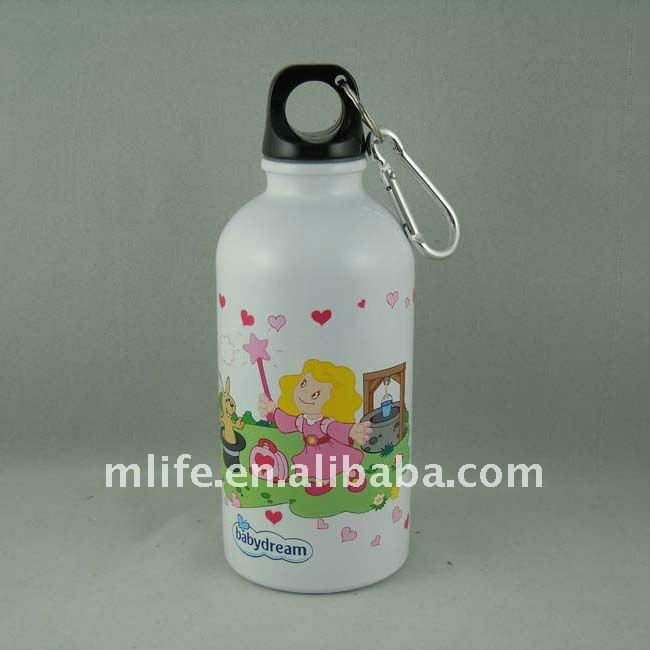 400ml BPA free good quality promotion aluminum sports bottle