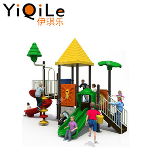 The import plastic outdoor slides cute outdoor playground equipment