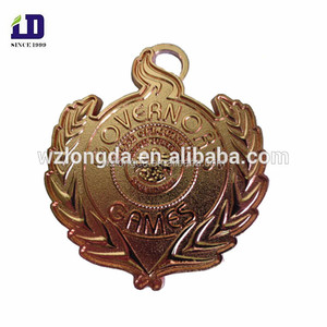 Customized bronze color government metal medals export to USA