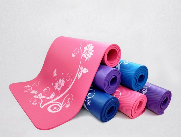 High density eco friendly material NBR Yoga Mat