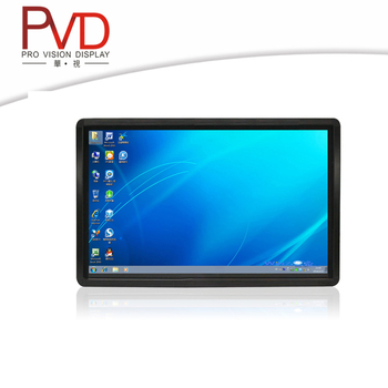 "22"" Factory supply TFT wall mount touch screen monitor"