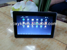 android 4.0 mid metal cover q88 arm cortex a13 cpu android tablet pc