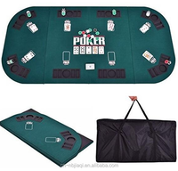 foldable poker game mat