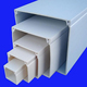 Fire Resistant Colored PVC Electrical Cable Trunking