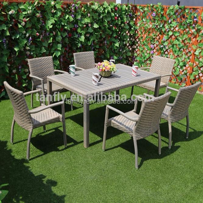 Rattan Outdoor Patio Furniture Dining